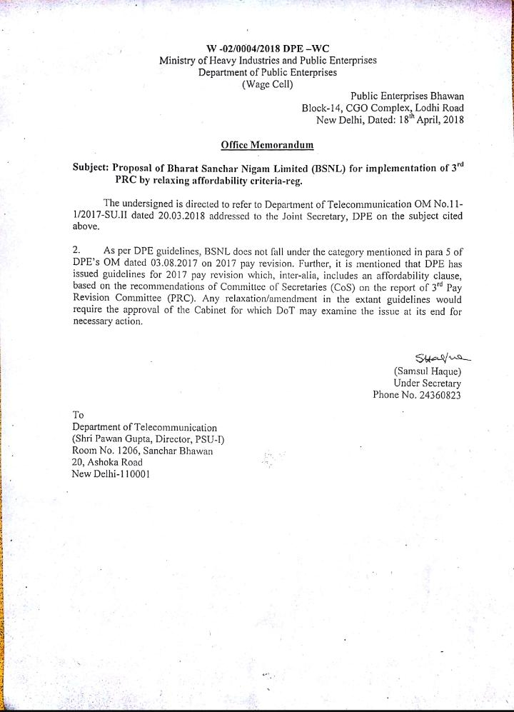 Snea india dpe letter to dot spiritdancerdesigns